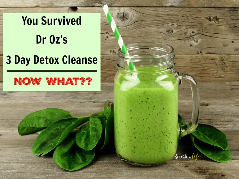 dr oz 3 zile pierdere în greutate cleanse)